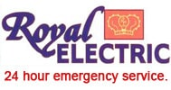 Royal Electric Logo